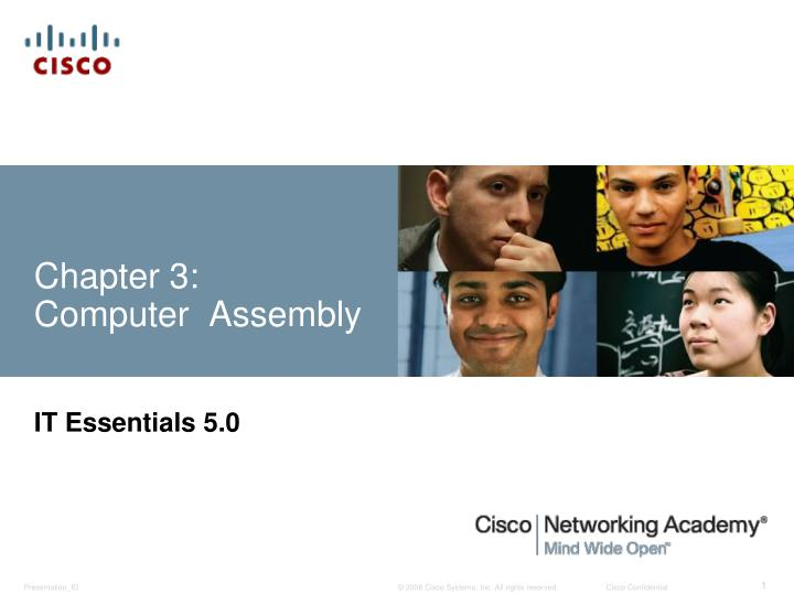 Chapter 3 computer assembly