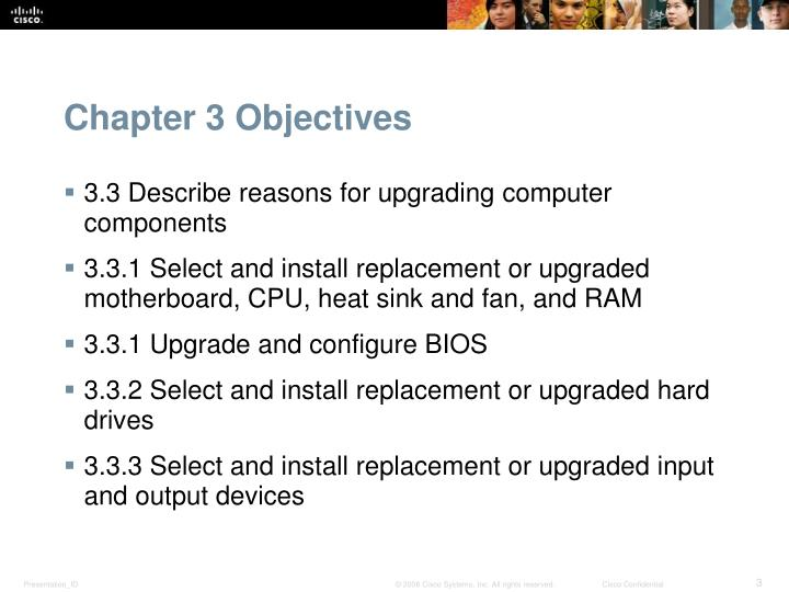 Chapter 3 objectives1