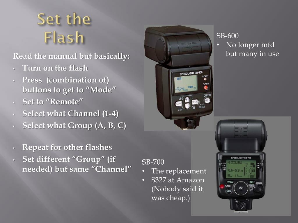 TM Simple Studio NPT-04 4 Channel Wireless Hot Shoe Flash Trigger and 1 Receiver Set for Canon Nikon Pentax