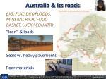 australia its roads