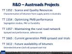 r d austroads projects1