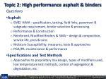 topic 2 high performance asphalt binders1