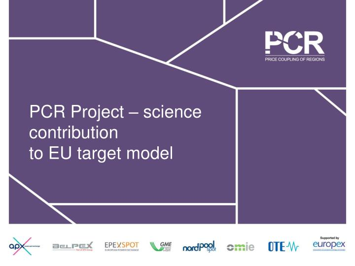 PCR Project – science