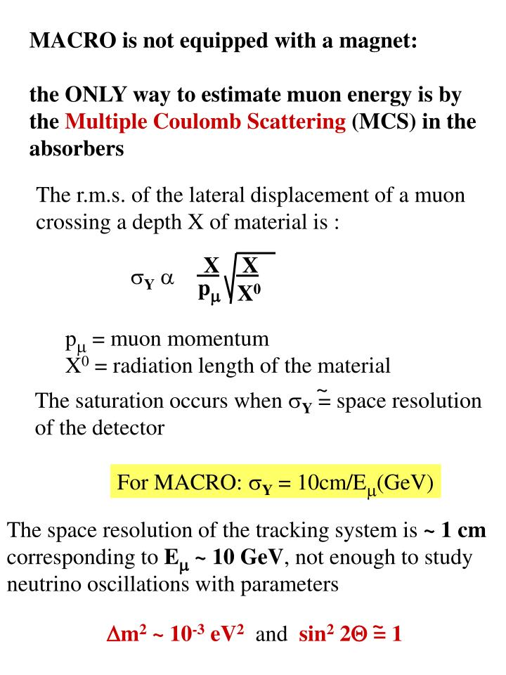 MACRO is not equipped with a magnet: