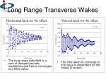 long range transverse wakes