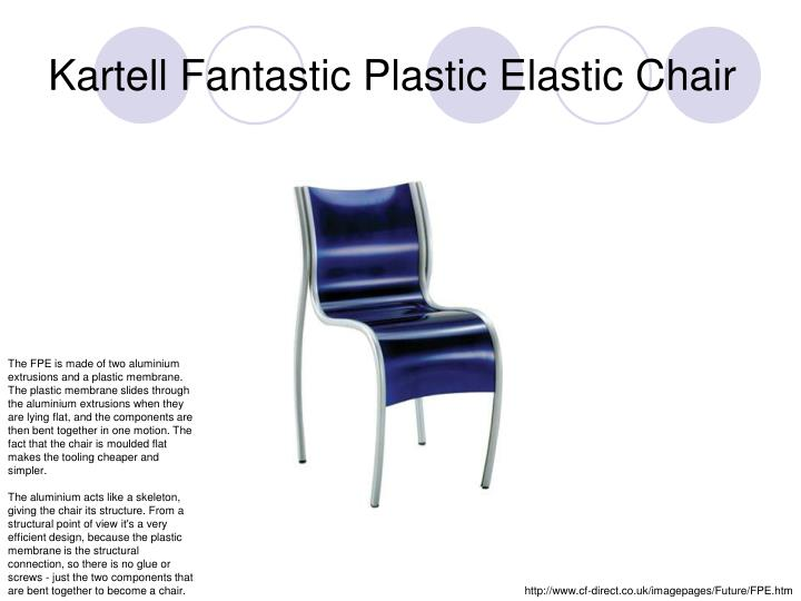 Kartell Fantastic Plastic Elastic Chair