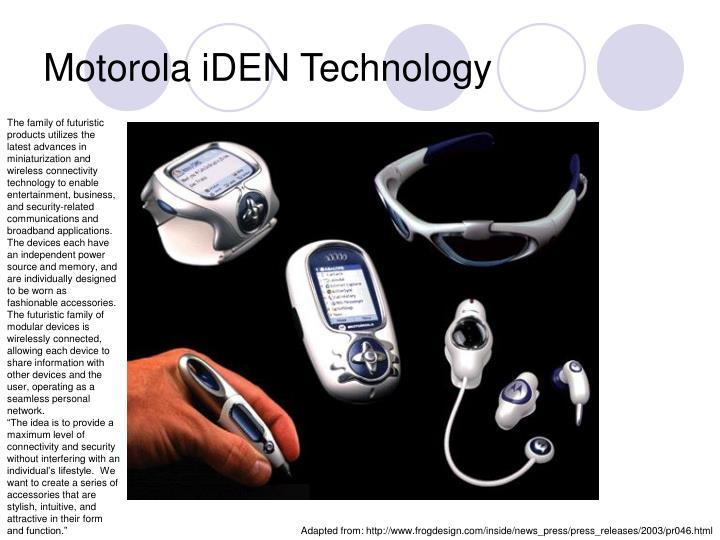 Motorola iDEN Technology
