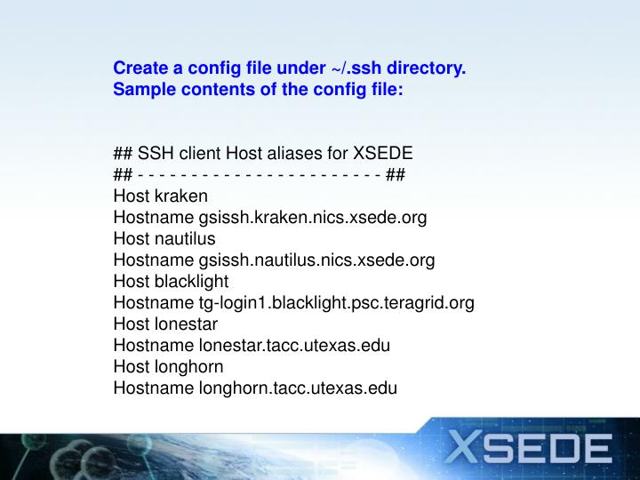 Create a config file under ~/.ssh directory.