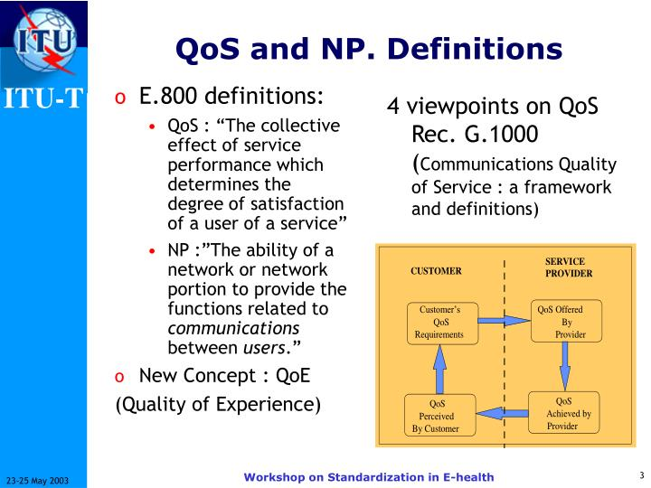 Qos and np definitions