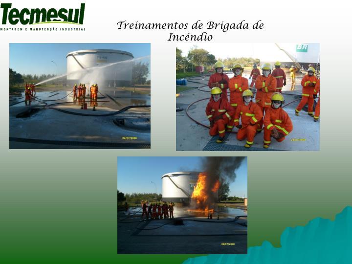 Treinamentos de Brigada de Incêndio