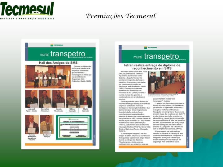 Premiações Tecmesul