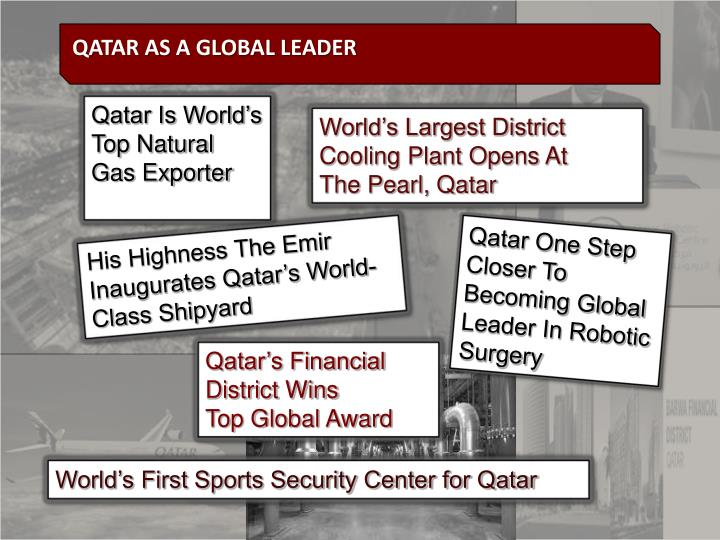 Qatar Is World's Top Natural Gas Exporter