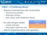 iobuf i o buffering library