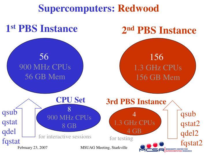 Supercomputers: