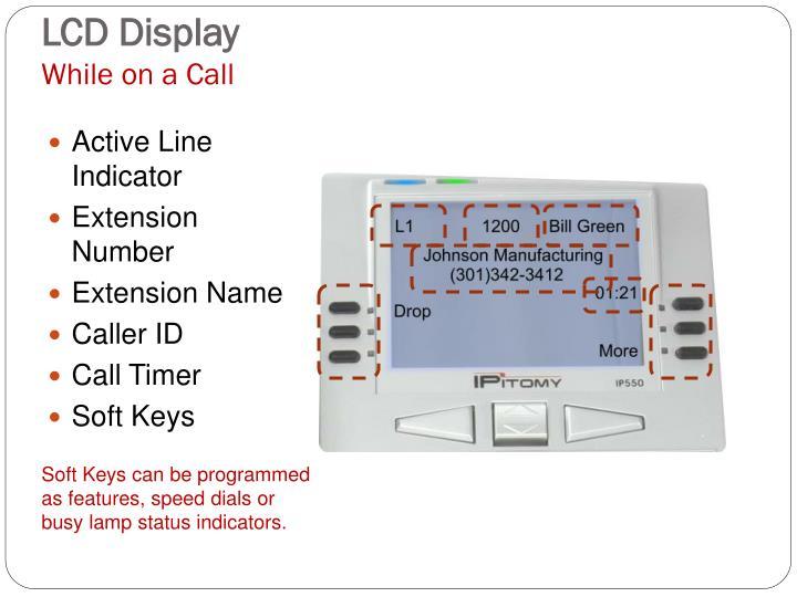 Active Line Indicator