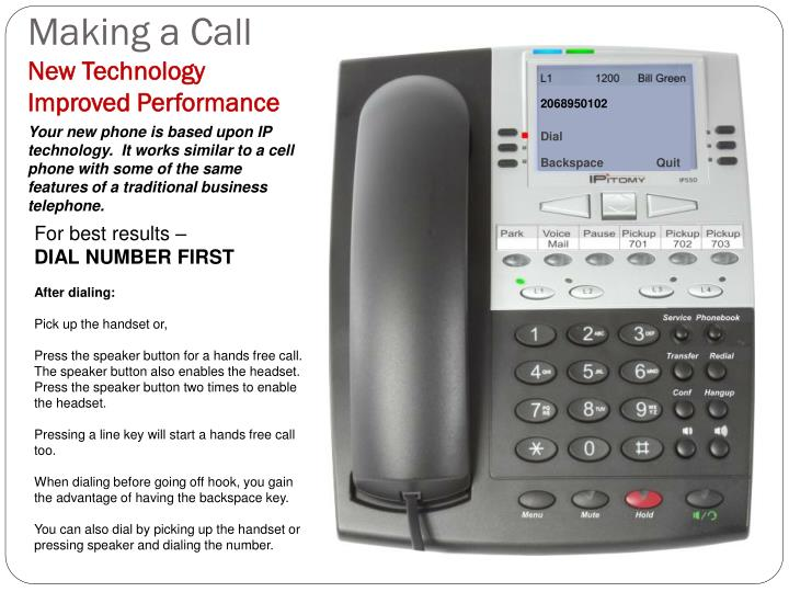 Making a Call