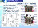 local control boards