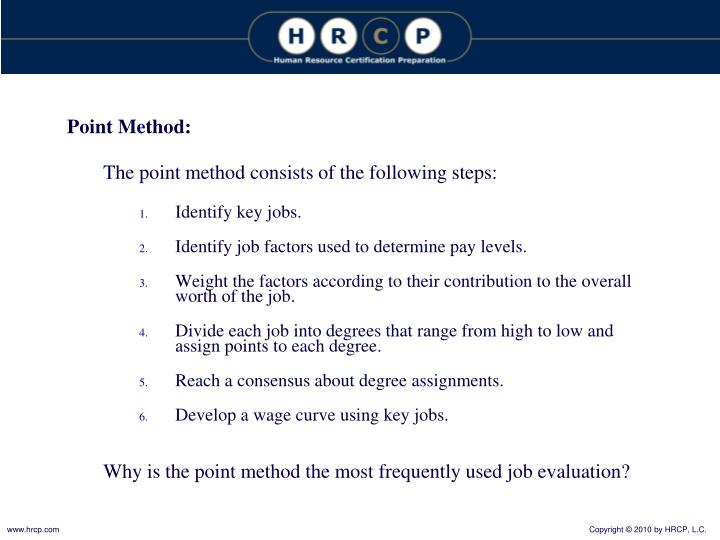 Point Method: