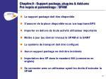 chapitre 9 support package plug ins add ons pr requis et param trage spam