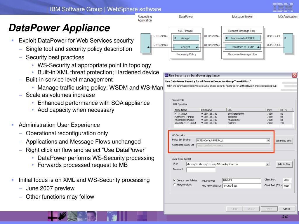 PPT - Building an Enterprise Service Bus with WebSphere Message