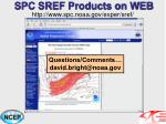 spc sref products on web