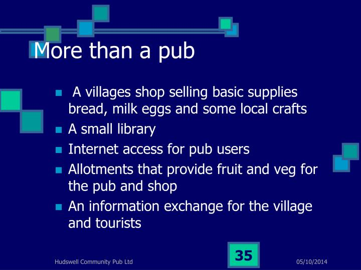 More than a pub