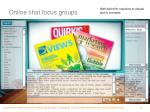 online chat focus groups1