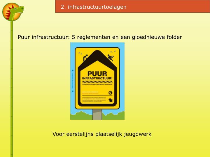 2. infrastructuurtoelagen