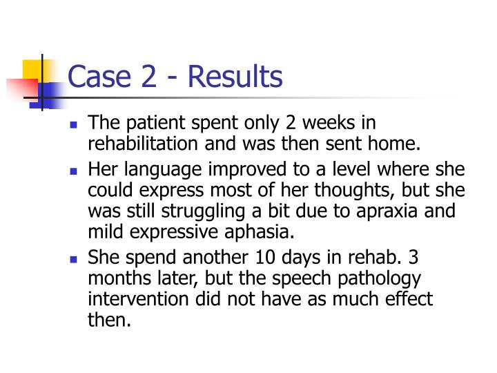 Case 2 - Results