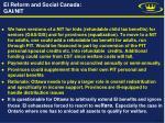 ei reform and social canada gai nit