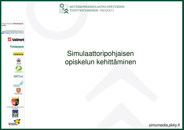Simulaattoripohjaisen