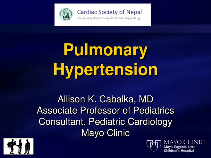 PPT - Pulmonary Hypertension PowerPoint Presentation - ID