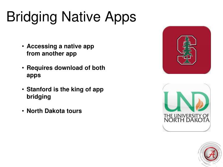 Bridging Native Apps