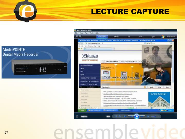 LECTURE CAPTURE