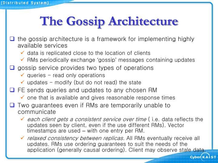 The Gossip Architecture