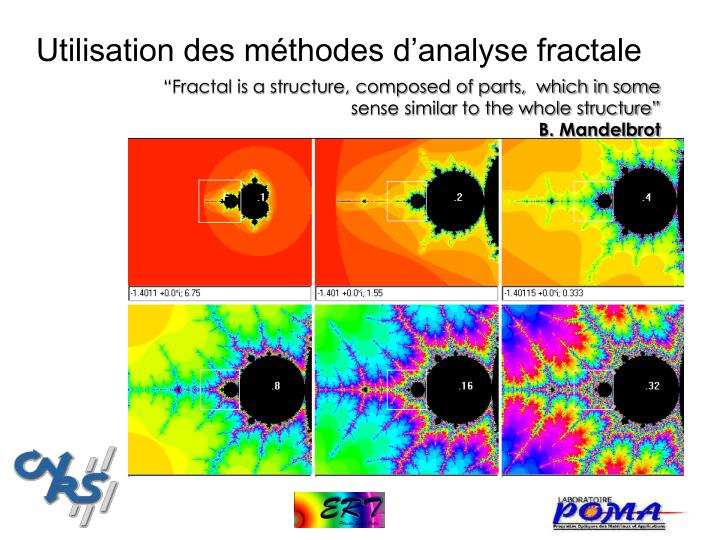 Utilisation des méthodes d'analyse fractale