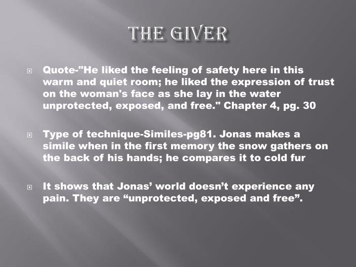 Ppt The Giver Literary Techniques Powerpoint Presentation Id5186958