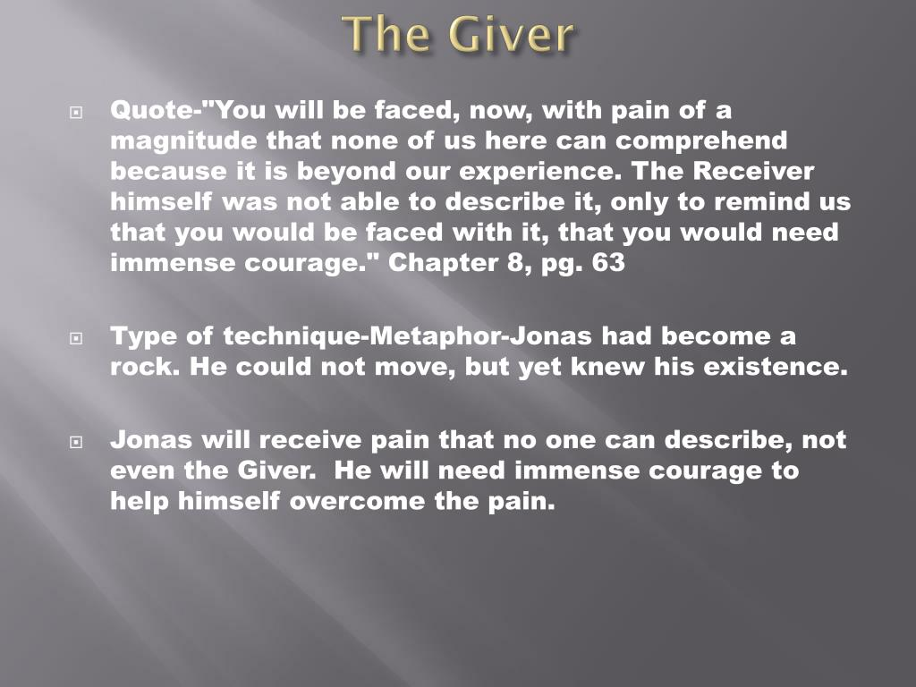ppt the giver literary techniques powerpoint presentation