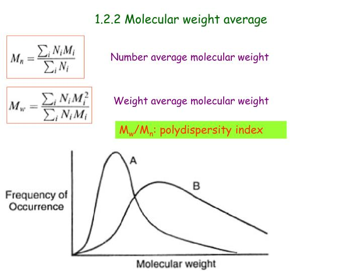 N Molecular Weight PPT - Part 1. Introduc...