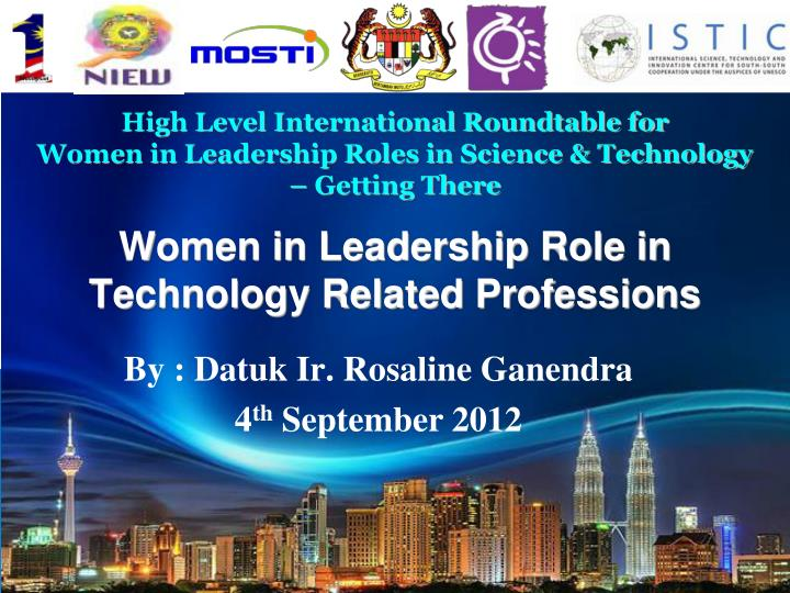women and leadership presentation 1 These leadership training courses and seminars help you fulfill your potential through effective leadership skills training in areas like: team building, strategic planning, decision making and more all leadership seminars and courses teach valuable insights, proven to work in a real world environment.