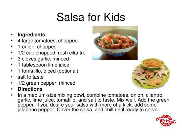 Salsa for Kids