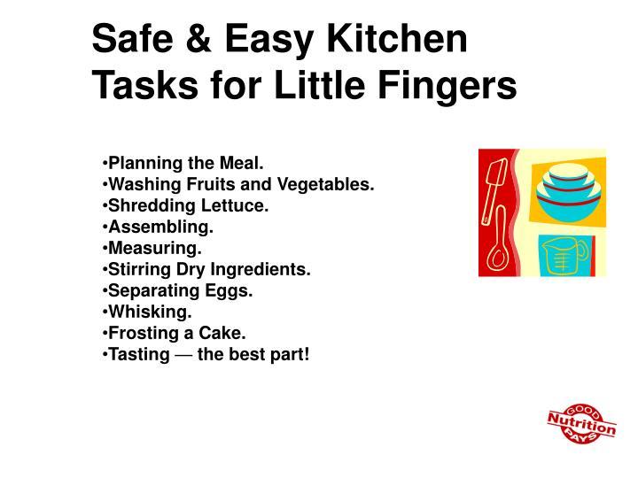 Safe & Easy Kitchen