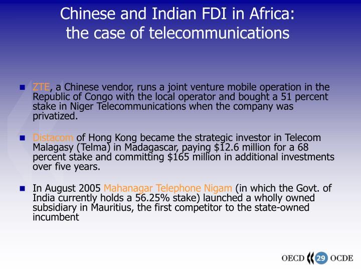 china and india on fdi