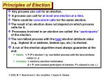 principles of election