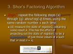 3 shor s factoring algorithm11