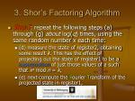 3 shor s factoring algorithm12