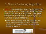 3 shor s factoring algorithm15