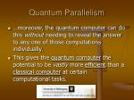 quantum parallelism1