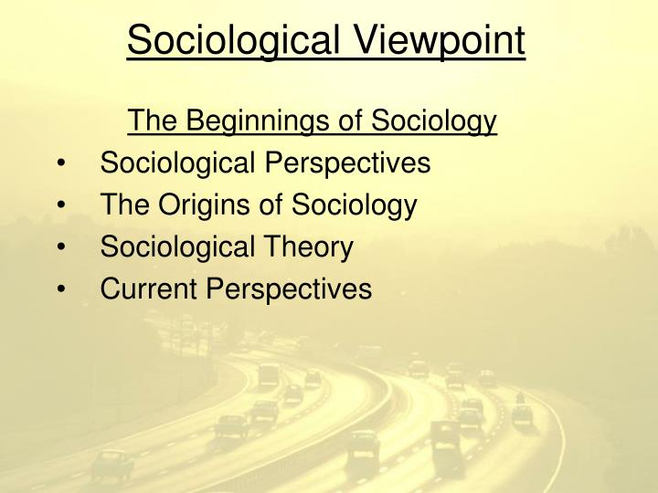 current event and sociological perspective