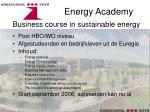 energy academy